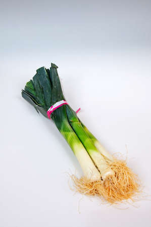 leeks: Bunch of leeks