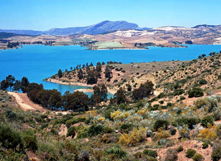 conde: Embalse del Conde del Guadalhorce  Reservoirs of the Guadalteba   Guadalhorce Rivers , Nr  Ardales, Malaga Province, Andalucia, Spain, Western Europe