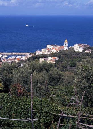 massa: Marina dell Lobra, Massa Lubrense, Campania, Italy, Europe