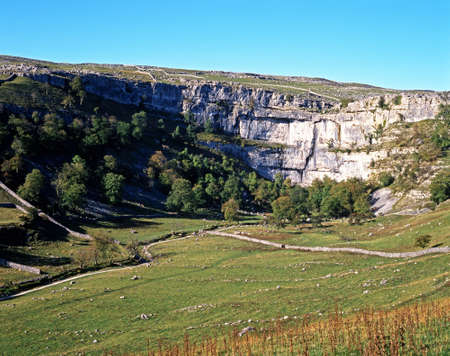g spot: Malham Cove, Malham, Yorkshire Dales, North Yorkshire, England, UK, Great Britain, Western Europe