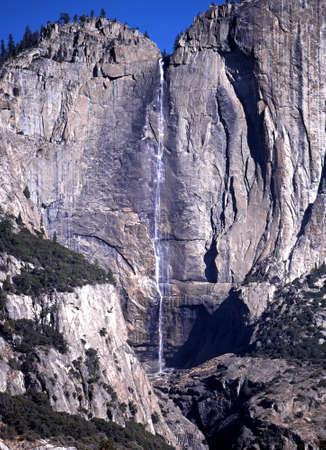 Upper Yosemite falls, Yosemite National park, California, USA photo