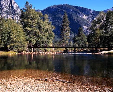 Merced River, Yosemite National Park, California, USA Stock Photo - 22031906