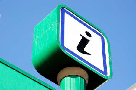 promenade: Information sign along the promenade, Marbella, Costa del Sol, Malaga Province, Andalucia, Spain, Western Europe