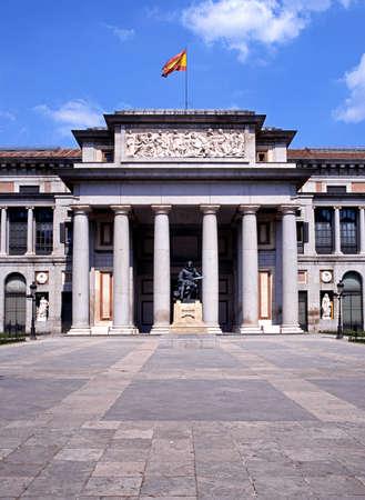 The Prado museum and art gallery  Museo del Prado , Madrid, Spain, Wesern Europe