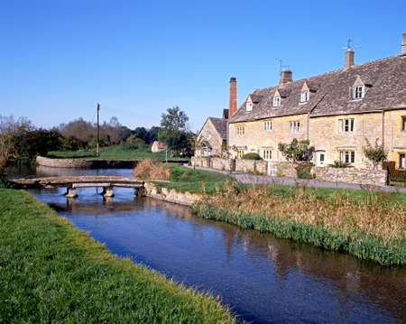 River eye, Lower Slaughter, Cotswolds, Glocestershire, England, UK, Western Europe  photo