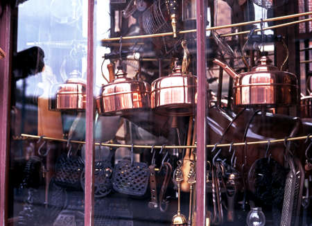 midlands: Dudley, UK - Circa September 1997 - Victorian hardware store, Dudley, West Midlands, England, United Kingdom, Western Europe