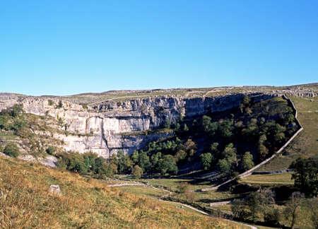 drystone: Malham Cove, Malham, Yorkshire Dales, North Yorkshire, England, UK, Great Britain, Western Europe