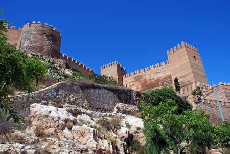 Moorish Castle, Almeria, Costa Almeria, Almeria Province, Andalusia, Spain, Western Europe Stock Photo