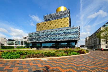centenary: Birmingham, UK - May 14, 2014 - The Library of Birmingham, Centenary Square, Birmingham, England, UK, Western Europe