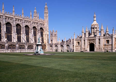 uk: CAMBRIDGE, UK - CIRCA JULY, 1992 - Kings College, Cambridge, Cambridgeshire, England, United Kingdom, Western Europe  Editorial