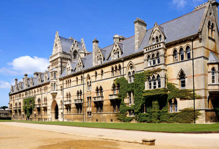 christ church: The Meadow building which is part of Christ Church College, Oxford, Oxfordshire, England, UK, Western Europe.