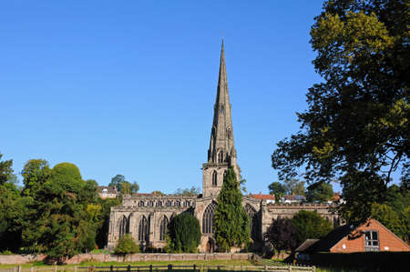 Parish Church of Saint Oswald, Ashbourne, Derbyshire, England, UK, Western Europe.