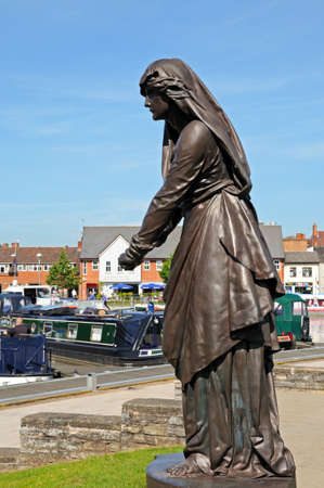 macbeth: Lady Macbeth at the Gower Memorial, Stratford-upon-Avon, Warwickshire, England, UK, Western Europe.