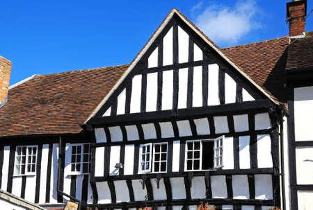 tudor: Tudor building in the town centre, Evesham, Worcestershire, England, UK, Western Europe.