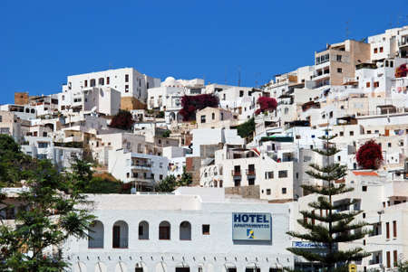 pueblo: View of the white town, Mojacar Pueblo, Almeria Province, Andalusia, Spain, Western Europe. Editorial