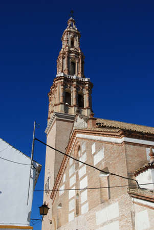 giles: St. Giles church and bell tower (Iglesia de San Gil), Ecija, Seville Province, Andalucia, Spain, Western Europe.