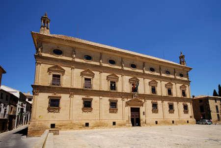 palacio: Palacio de las Cadenas (Chains Palace), used as the town hall (Ayuntamiento), Ubeda, Jaen Province, Andalucia, Spain, Western Europe.