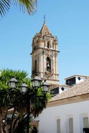 western europe: Parish of the Assumption church tower, Cabra, Cordoba Province, Andalusia, Spain, Western Europe.