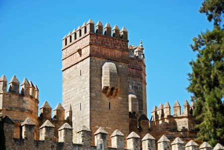 marcos: San Marcos castle (Castillo de San Marcos), El Puerto de Santa Maria, Cadiz Province, Andalusia, Spain, Western Europe.