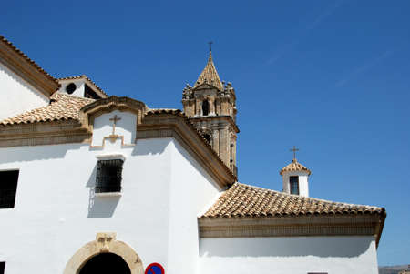 assumption: Parish of the Assumption church and tower, Cabra, Cordoba Province, Andalusia, Spain, Western Europe.