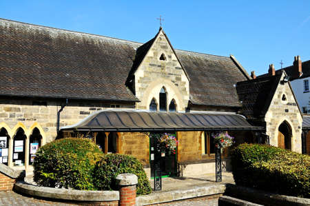 stafford: Gli ex Victorian aule St Marys, Stafford, Staffordshire, Inghilterra, Regno Unito, Europa Occidentale.