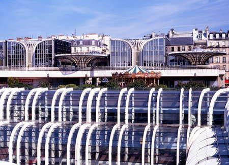 shopping centre: Les Halles de Paris shopping centre, Paris, France, Western Europe. Editorial