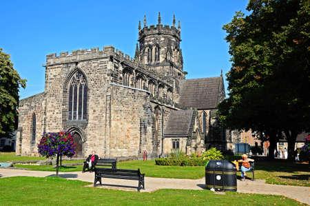 stafford: Collegiate Church of St Mary Stafford Staffordshire England UK Western Europe.