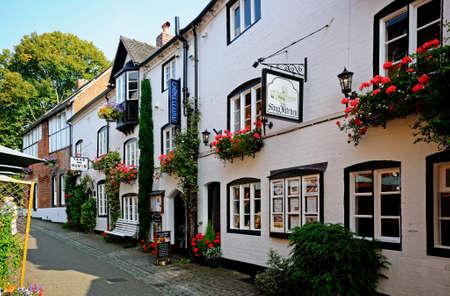 stafford: The Soup Kitchen along Church Lane Stafford Staffordshire England UK Western Europe.