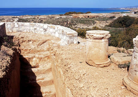 3rd century: Tombs of the Kings (3rd Century BC), Paphos, Cyprus.