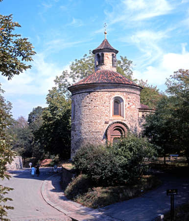 central europe: St Martins chapel in Vyserhrad, Prague, Czech Republic, Central Europe.