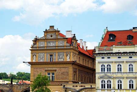 eastern europe: Bedricha Smetany Museum, Prague, Czech Republic, Eastern Europe. Editorial