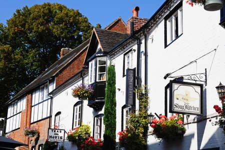 stafford: The Soup Kitchen along Church Lane, Stafford, Staffordshire, England, UK, Western Europe.