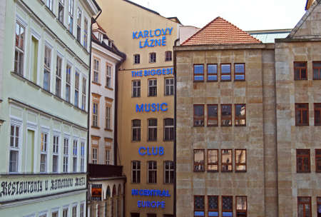 karlovy: Biggest music club in central Europe (Karlovy Lazne), Prague, Czech Republic, Eastern Europe. Editorial