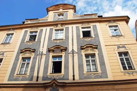 baroque architecture: Typical Baroque architecture, Prague, Czech Republic, Eastern Europe.