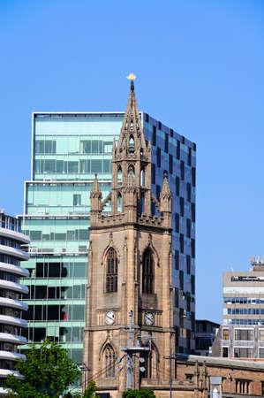 merseyside: Liverpool Parish church aka Church of Our Lady and Saint Nicholas, Liverpool, Merseyside, England, UK, Western Europe.