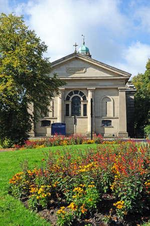 derbyshire: St John the Baptist Church, Buxton, Derbyshire, England, UK, Western Europe.