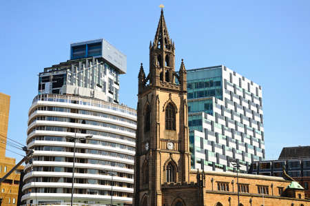 parish: Liverpool Parish church aka Church of Our Lady and Saint Nicholas, Liverpool, Merseyside, England, UK, Western Europe.