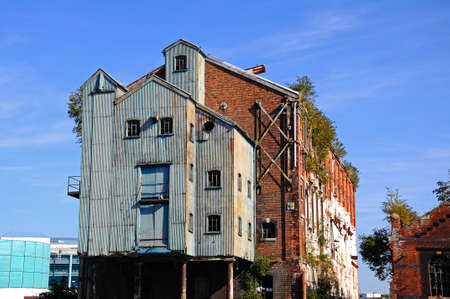 Old warehouses in Gloucester Docks, Gloucester, Gloucestershire, England, UK, Western Europe.