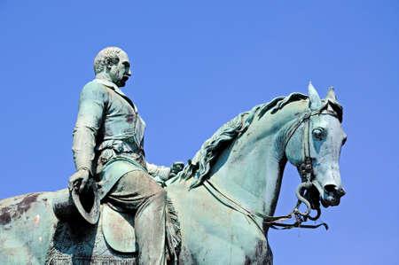 merseyside: Statue of Albert Prince Consort, Liverpool, Merseyside, England, UK, Western Europe.