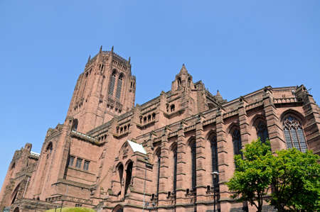 merseyside: Cattedrale anglicana di Liverpool, Liverpool, Merseyside, Inghilterra, Regno Unito, Europa occidentale.
