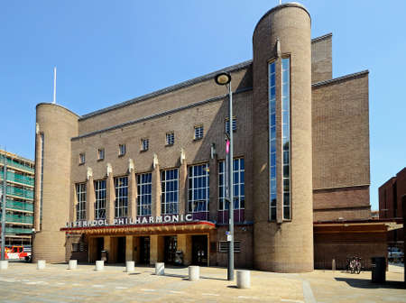 merseyside: Liverpool Philharmonic Hall lungo Hope Street, Liverpool, Merseyside, Inghilterra, Regno Unito, Europa occidentale.