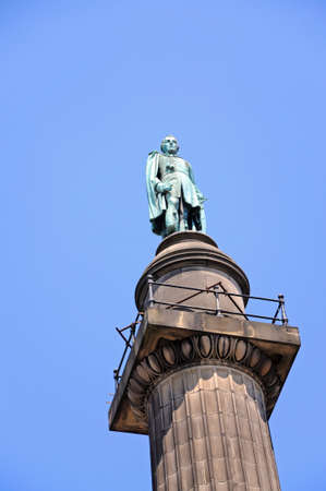 wellingtons: Wellingtons Column along William Brown Street, Liverpool, Merseyside, England, UK, Western Europe.