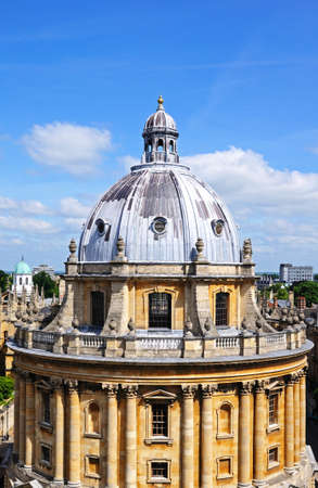 western europe: Elevated view of the Radcliffe Camera dome, Oxford, Oxfordshire, England, UK, Western Europe.