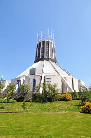 roman catholic: Roman Catholic Cathedral, Liverpool, Merseyside, England, UK, Western Europe.