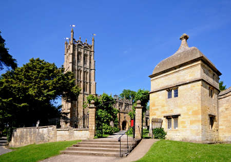 gloucestershire: St James church, Chipping Campden, The Cotswolds, Gloucestershire, England, UK, Western Europe.
