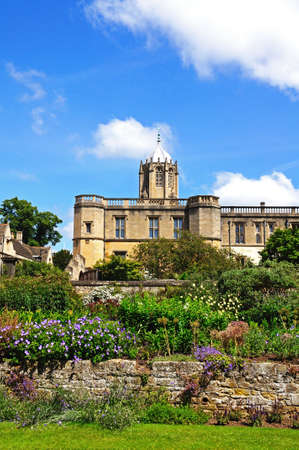 christ church: View of Christ Church college and the memorial gardens, Oxford, Oxfordshire, England, UK, Western Europe.