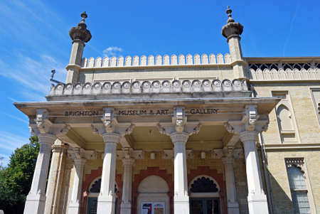 west sussex: Brighton Museum and Art Gallery, Brighton, West Sussex, England, UK, Western Europe.