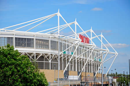 midlands: View of the Ricoh Arena stadium, Coventry, West Midlands, England, UK, Western Europe.