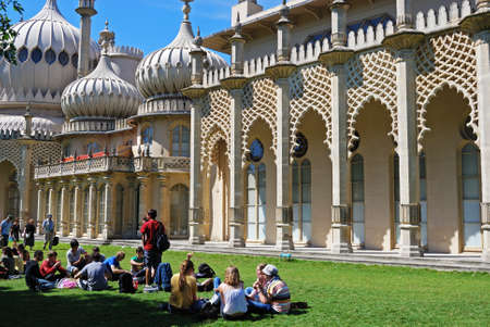 indo: Royal Pavilion, Brighton, West Sussex, England, UK, Western Europe. Editorial