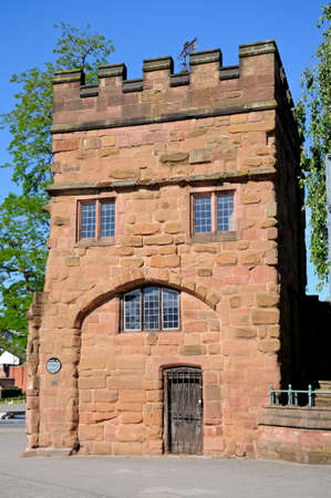 midlands: View of Swanswell Gate which once formed part of the city wall, Coventry, West Midlands, England, UK, Western Europe.